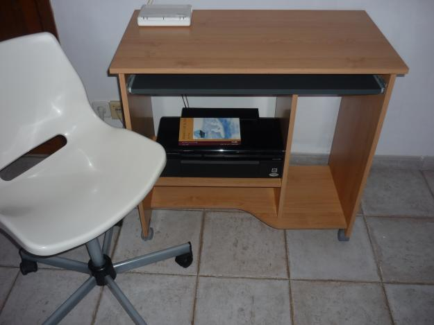 Escritorio de madera silla mejor precio for Precio silla escritorio