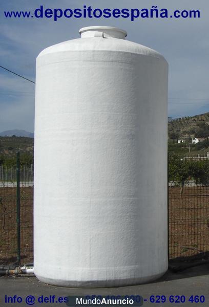 Deposito de poliester para agua potable de riego - Precio depositos de agua ...