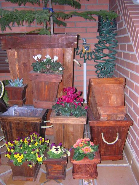 Jardineras Caseras De Madera Hechas A Mano A Medida.