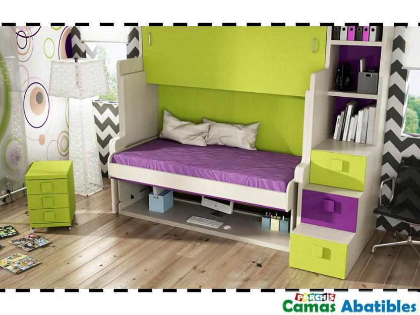 muebles parchis donde comprar camas abatibles infantiles