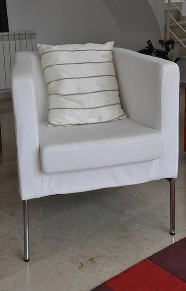 Vendo butaca klappsta de ikea color blanco por s lo 40 - Butacas de ikea ...