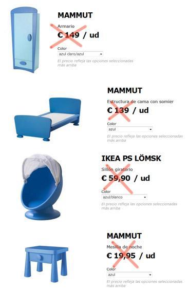 Muebles para ni o ikea serie mammut mejor precio - Muebles de ninos ikea ...