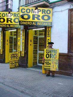 COMPRO ORO EN SEVILLA  MAXIMAS TASACIONES  WWW.TODOYSOLOORO.COM