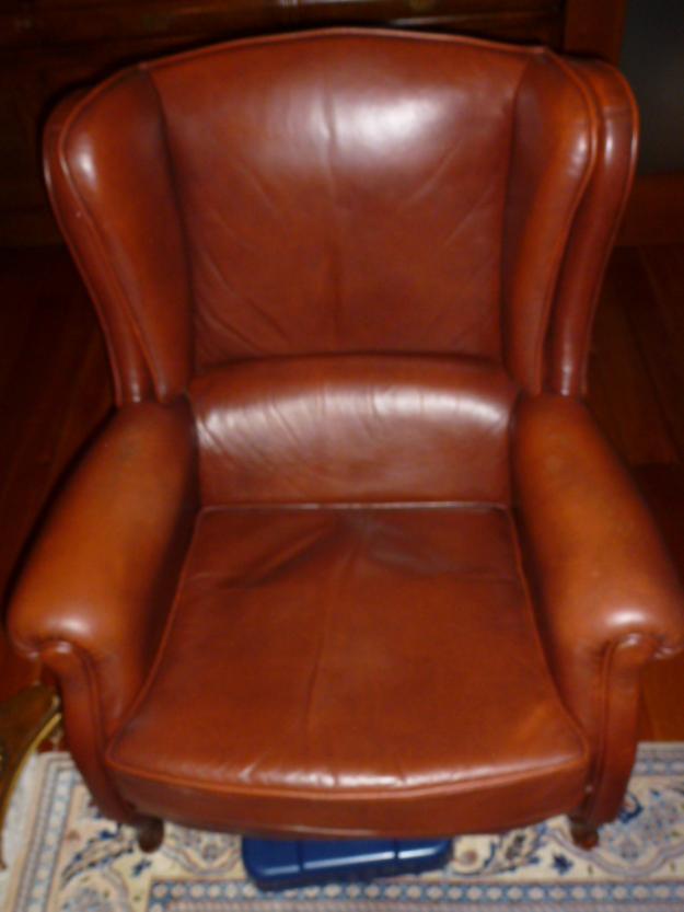 Dos sillones de piel en muy buen estado sant gervasi for Sillones a buen precio