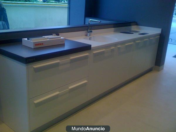 Liquidaci n exposici n mobiliario de cocina alta gama - Mobiliario de cocina precios ...