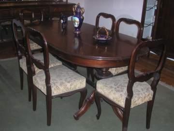 Muebles de comedor antiguos estilo isabelino mejor for Muebles de comedor antiguos