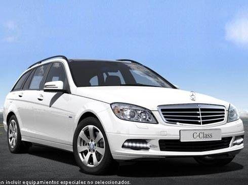 Mercedes Clase C Estate 220CDI BE BlueEfficiency Edition Berlina 170cv. Manual 6vel. Blanco Calcita. Nuevo. Nacional.