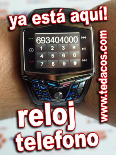 Nuevo! Reloj Telefono Movil de Pulsera Tedacos (Ahora con Doble Tarjeta SIM)