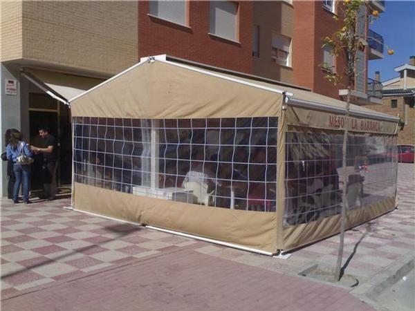 Pergola carpa para invierno terraza bares mejor precio - Pergola para terraza ...