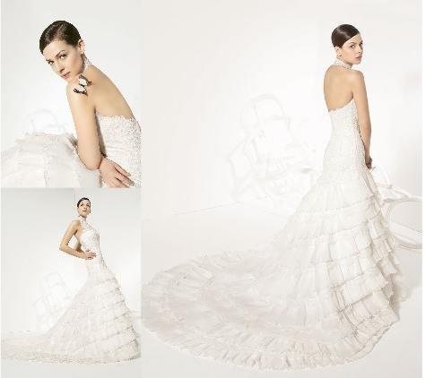 vendo vestido de novia - rosa clara aire collection 2008 714381