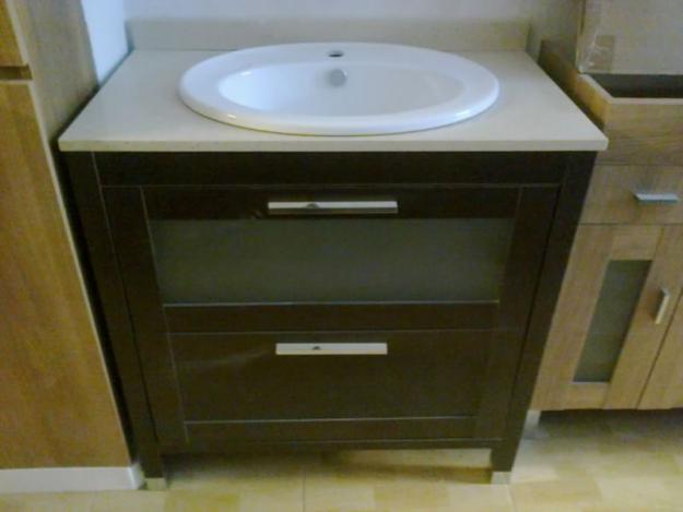 Mueble de ba o en liquidacion 194433 mejor precio for Liquidacion muebles de bano
