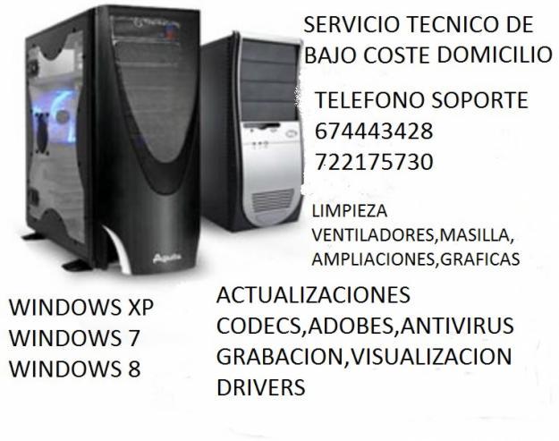 Informatica bajo coste instalaciones