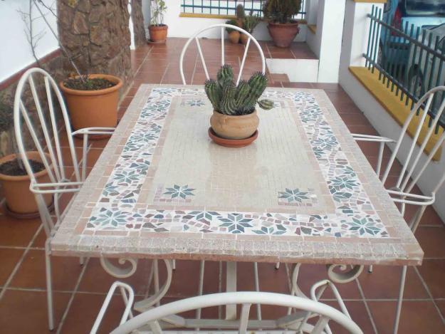 Mesa de mosaico 286314 mejor precio for Mesa mosaico jardin