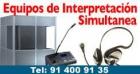 Alquiler Equipos Traducción Simultánea. Cabinas de interpretación. - mejor precio | unprecio.es