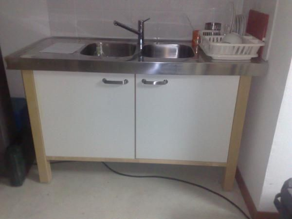 Mueble fregadero cocina independiente mejor precio for Fregadero ropa