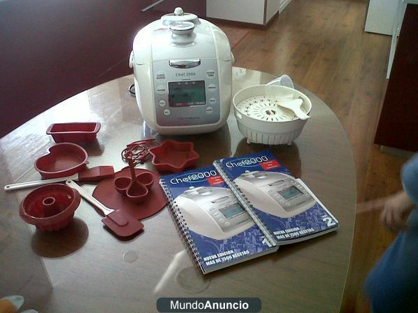 Chef 2000 Turbo Inteligente + Moldes + Recetarios