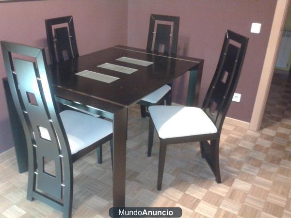Conjunto mesa y sillas comedor mejor precio - Conjunto mesa y sillas comedor ...