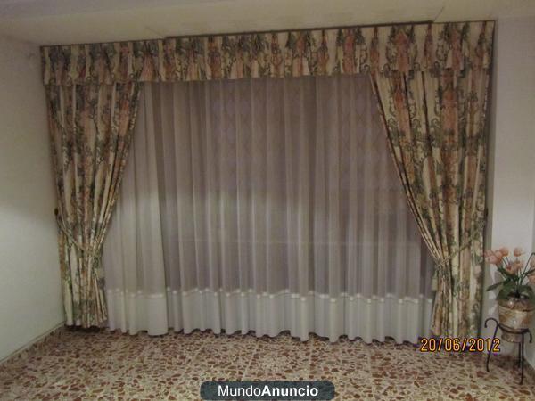 Cortinas para sal n 237532 mejor precio for Enganches para cortinas
