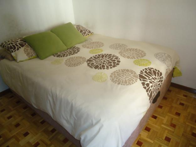 Cama canape queen size x cm 215918 mejor for Cama canape 90