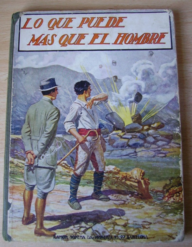 Libro lo que puede m s que el hombre 1930 colecci n ram n sopena 93 97 165419 mejor precio - Telefono casa del libro vigo ...