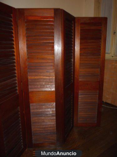 Oferta biombo madera maciza mejor precio for Precio de futones