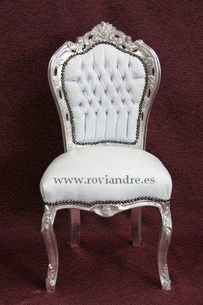 Sillas comedor barroco luis xv mejor precio for Precio sillas comedor