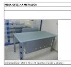 mesa oficina metálica - mejor precio | unprecio.es