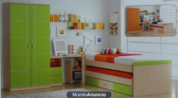 Mueble salon comedor dormitorio juvenil matrimonio sofa for Comedor juvenil