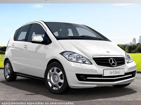 Mercedes Clase A 160CDI BE 82 CV Exclusive Edition. Manual. Blanco. Nuevo.Nacional .