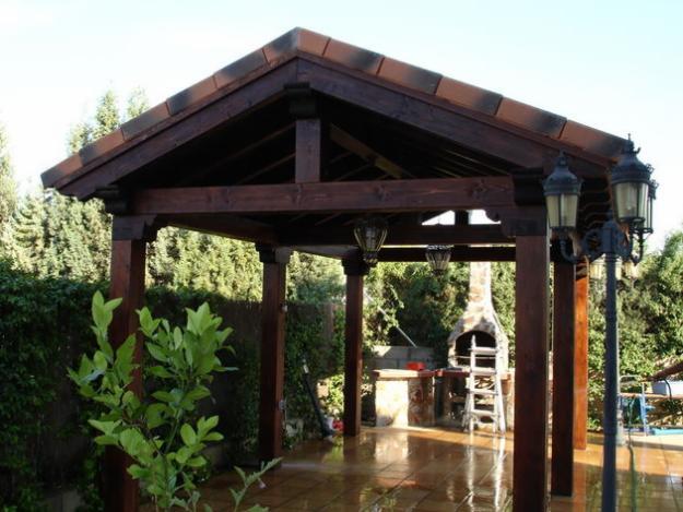 Porches y pergolas de madera 526496 mejor precio - Pergolas y porches de madera ...