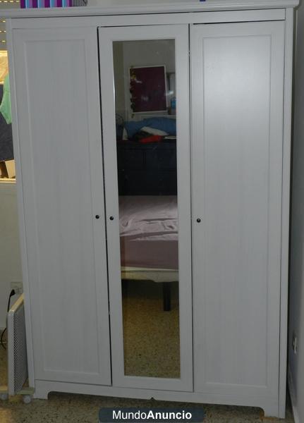 Armario ikea tres puertas aspelund 236727 mejor precio - Armarios tres puertas ...
