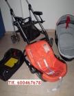 Carricoche y silla bebe capazo y maxicosi seminuevo con silleta cochecito paseo - mejor precio | unprecio.es