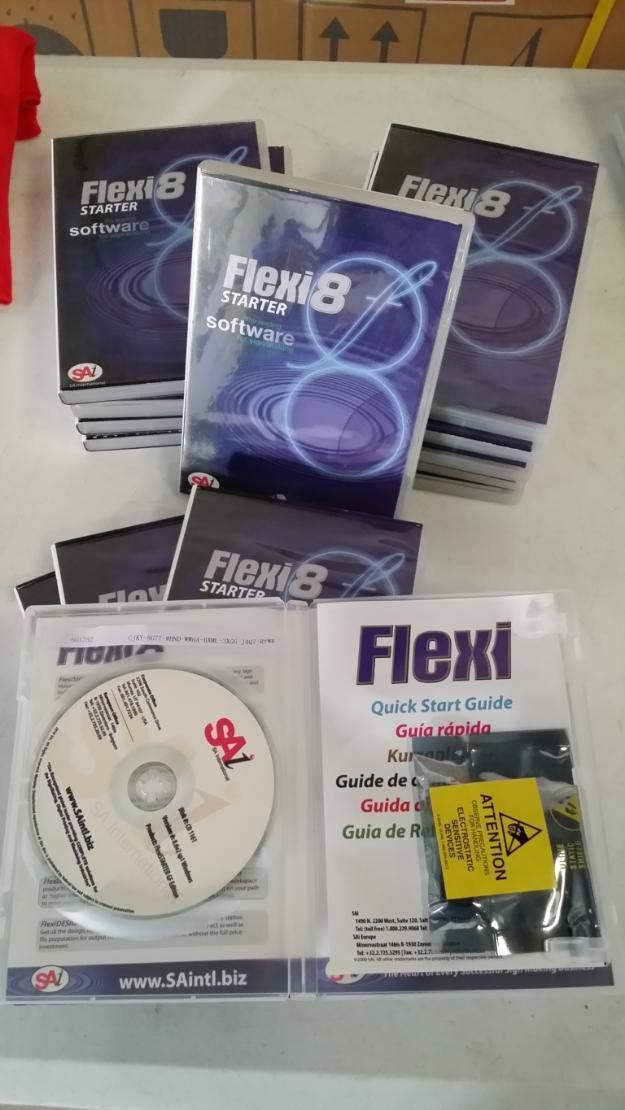 Software Flexi 8 6 para plotter de corte Refine EH 721 EH 721 U MH