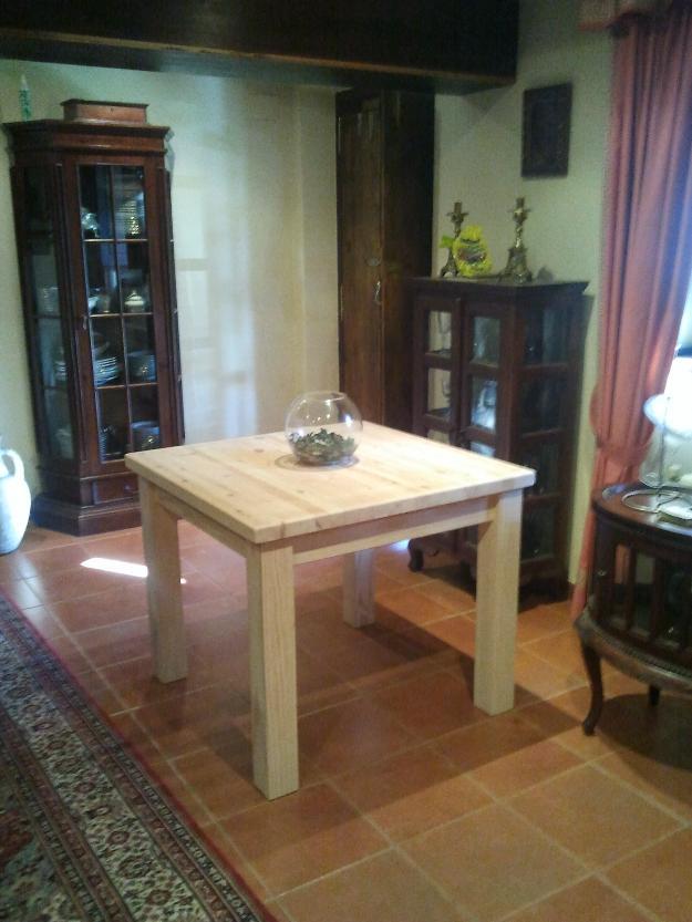 Muebles rusticos a medida alacenas mesas sillas - mejor precio ...