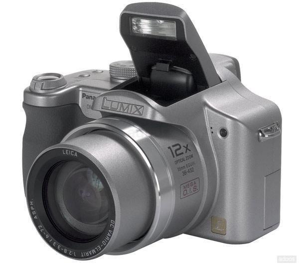 Vendo Panasonic Lumix FZ5 Plateada