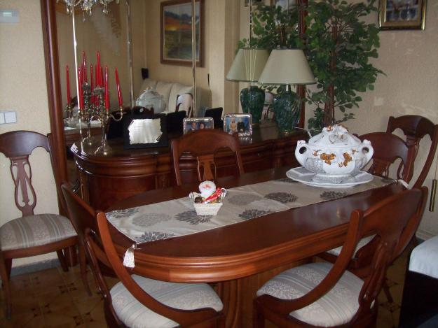 counter oferta comedor completo de cerezo impecable