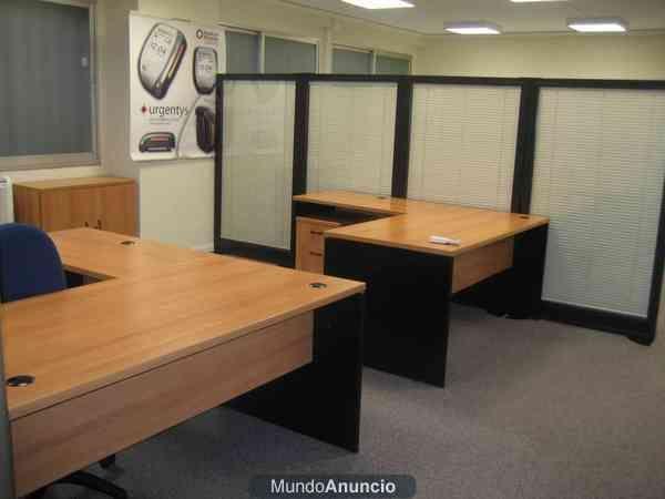 Rematamos mobiliario oficina por cierre mejor precio for Precio mobiliario oficina