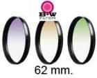 Cuatro filtros marca B+W  rosca 62mm - mejor precio | unprecio.es