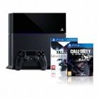 PS4 Sony Playstation 4 + Killzone + Call of Duty: Ghosts - mejor precio | unprecio.es