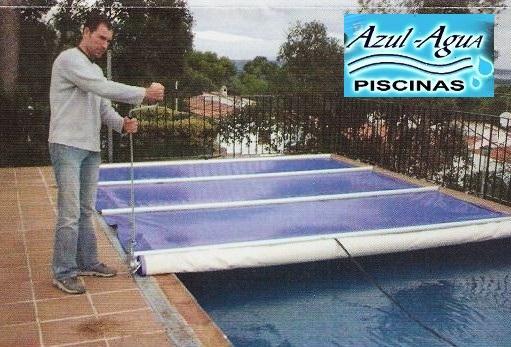 Cubiertas de piscina con barras mejor precio for Cubiertas para piscinas
