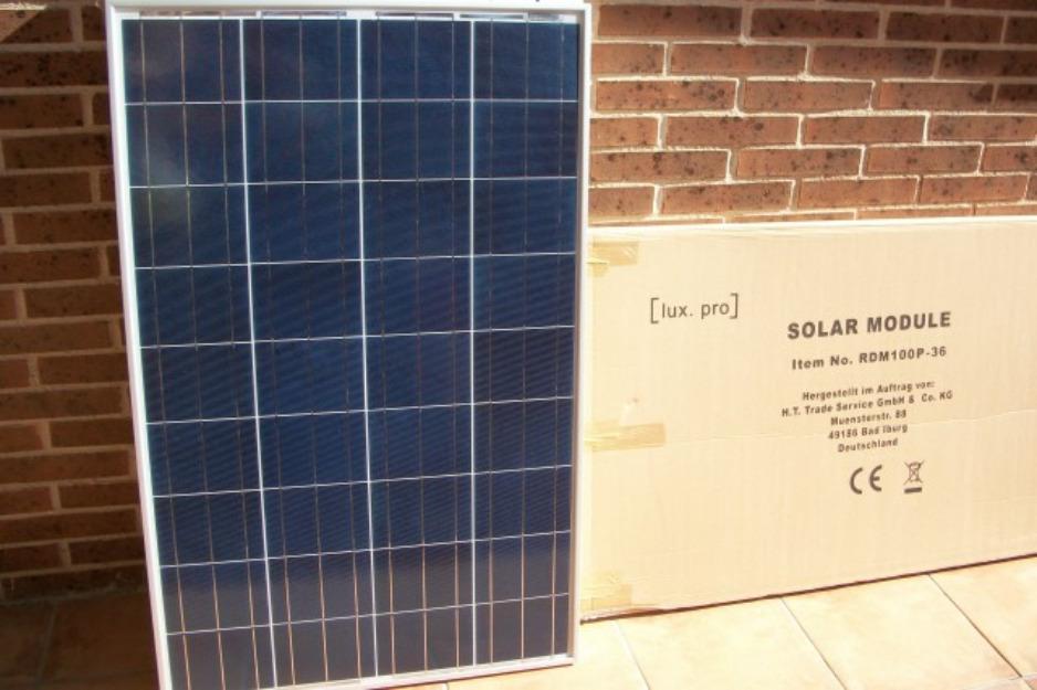 Placa solar 80w 100w 130w nuevas 12v placas solares for Placas solares precios