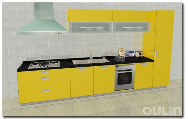Cocinas nuevas lineal hasta 4 metros 174312 mejor precio for Cocinas lineales de cuatro metros