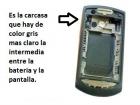 Carcasa Samsung Onix Parte intermedia - mejor precio | unprecio.es