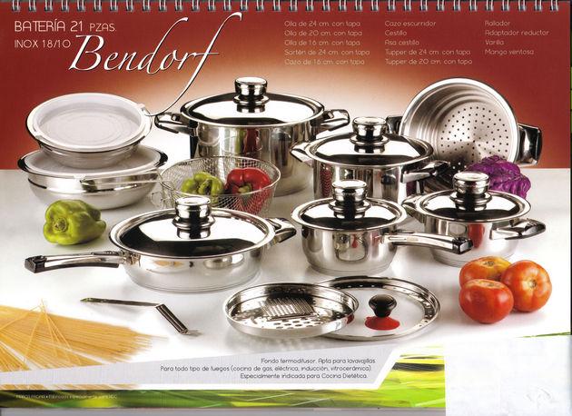 Bateria cocina 21pz bendorf alta calidad mejor precio for Bateria de cocina alemana