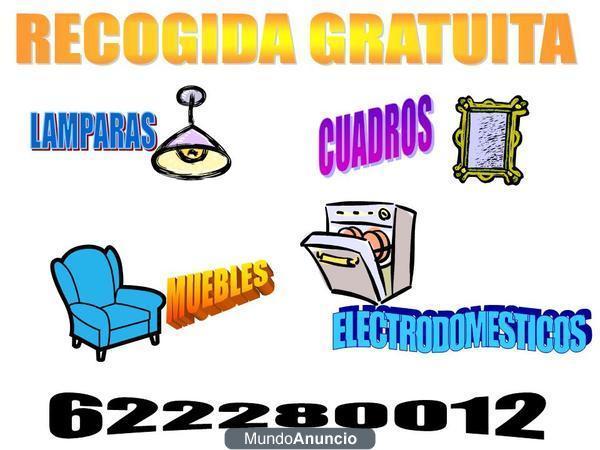 gratis recogida de muebles y demas enseres del hogar - mejor precio  unpreci...