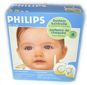 Intercomunicador Babycare Philips SBC SC 463