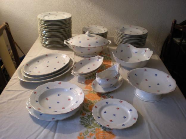 Vajilla de porcelana de bohemia chodau mejor precio - Ofertas vajillas porcelana ...