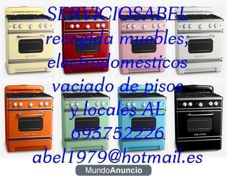 RECOGIDA DE ELECTRODOMESTICOS EN MADRID 359548 - mejor ...