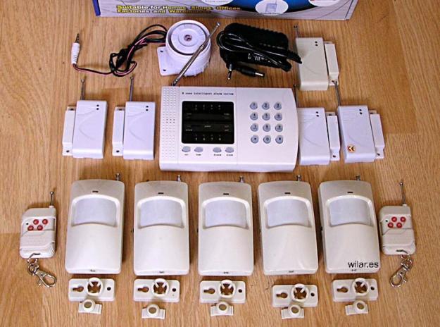 Alarma vigilancia inalambrica para tienda casa chalet - Alarmas para casa precios ...
