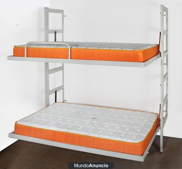Litera abatible opcion ideal para ahorrar espacio mejor - Litera abatible precio ...